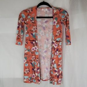 Lularoe cardigan lil girls size 6